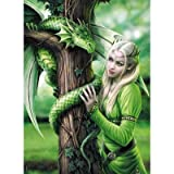 """Clementoni 39463"""" Verwandte Seelen-Anne Stokes Collection Puzzle, 1000 Teile"""